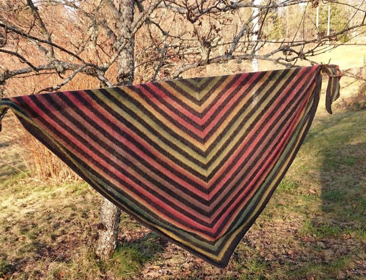 Annettes trekantiga sjal